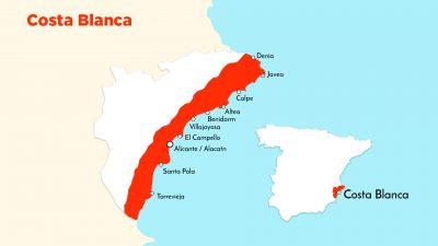 Het leven aan de Costa Blanca