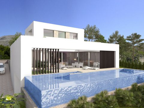 Villa in Finestrat, Alicante, Spain
