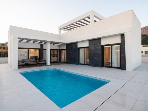 Villa - New build - Polop de la Marina - Polop