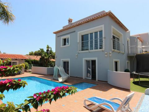 Villa - For sale - Jávea - Balcon al Mar